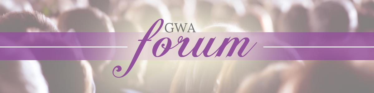 GWA Forum header