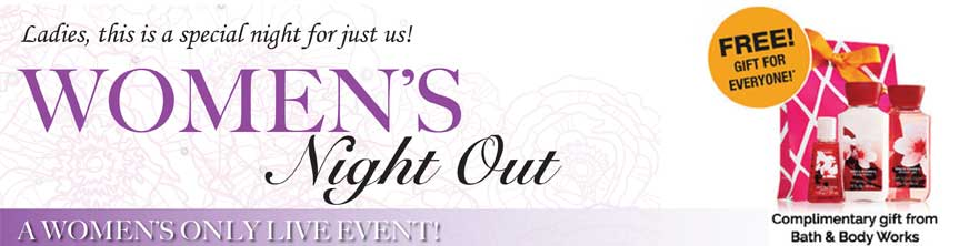 women s night out events