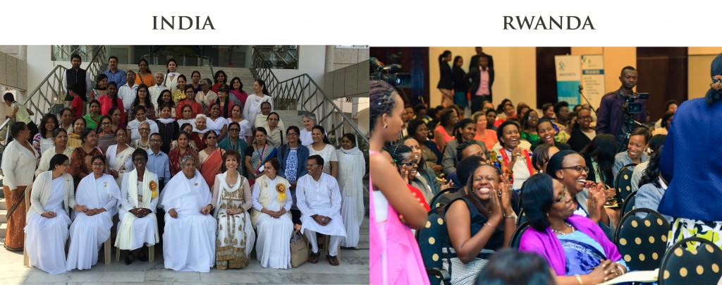 Paula Fellingham & The WIN's International Women's Day Events in India and Rwanda